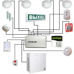 Профессиональная установка охранно-пожарных сигнализаций на предприятиях и в домах. Пожарные оповещатели, извещатели, приемно-контрольные приборы и датчики.