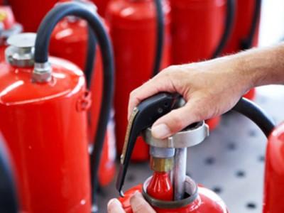 Техническое обслуживание огнетушителей.