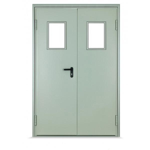 Профессиональная установка противопожарных дверей. Металлические пожарные двери, доступная цена на монтаж. Различный предел огнестойкости, высокое качество.
